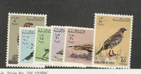 Libya, Postage Stamp, #269-274 VF Mint LH, 1965 Birds