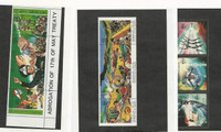 Libya, Postage Stamp, #1197, 1305, 1275 Mint NH Strip, 1984-86
