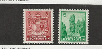 Liechtenstein, Postage Stamp, #116-117 Mint Hinged, 1934