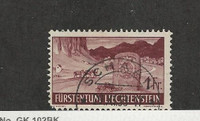 Liechtenstein, Postage Stamp, #148 Used, 1937