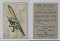 V88 Paterson, Aviation Series, 1930, #5 Douglas Ambassador Airplane