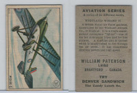 V88 Paterson, Aviation Series, 1930, #31 Westland Wizard II Airplane