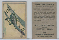 V88 Paterson, Aviation Series, 1930, #32 Bristol Bulldog Jupiter Airplane