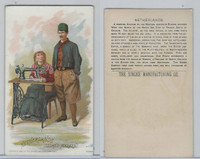 H639 Singer Sewing, Costumes of all Nations, 1892, Netherlands, Island Marken