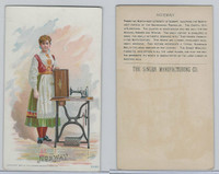 H639 Singer Sewing, Costumes of all Nations, 1892, Norway (F)