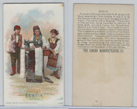 H639 Singer Sewing, Costumes of all Nations, 1892, Servia (F)