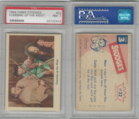 1959 Fleer, The 3 Stooges, #32 Cleaning Up The West, PSA 7 NM