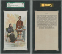 H639 Singer Sewing, Costumes of all Nations, 1892, India, SGC 60 EX