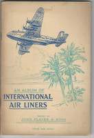 P72-220 Players, International Airliners, 1936, Album & Complete Set (Pasted)