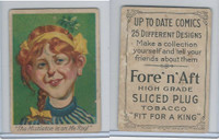 T114 Fore'n'Aft, Up To Date Comics, 1910, The Mistletoe Is On Me Roof