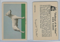 F279-5 Quaker, Challenge of the Yukon, Dog Cards, 1950, Bull Terrier