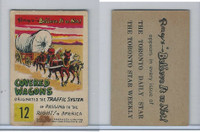 V339-13 Parkhurst, Believe It or Not, 1953, #12 Covered Wagons