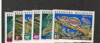 Malagasy, Postage Stamp, #489-494 Mint NH, 1973 Animals