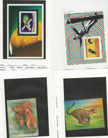 Malagasy, Postage Stamp, #558, 1189, 1199 Used Sheets, 1976-94 Animal, Space