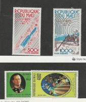 Mali, Postage Stamp, #C293-C294, C296, C300 Mint NH, 1976-77 Space