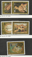 Mali, Postage Stamp, #C438-9, C451-2, C477 Used, 1981-83 Christian Art
