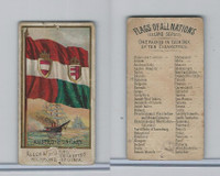 N10 Allen & Ginter, Flags of all Nations, 1890, Austro-Hungary