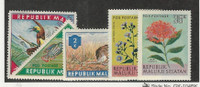 Indonesia - Maluku Seletan, Postage Stamp, 5 Different Mint NH, Fish, Bird