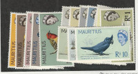 Mauritius, Postage Stamp, #276-290 Mint Hinged Set of 15, 1965 Birds