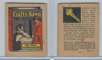 R25 American Chicle, Thrilling Stories, 1930's, Crafty Keen, #3 The Deaf