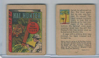 R25 American Chicle, Thrilling Stories, 1930's, Hal Hunter, #1 Man Eating Tiger