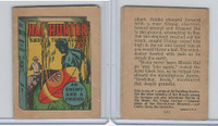 R25 American Chicle, Thrilling Stories, 1930's, Hal Hunter, #3 Enemy & Friend