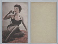 W Card, Exhibit, Showgirls & Pinups, 1960's, (B) Telephone