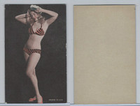 W Card, Exhibit, Showgirls & Pinups, 1960's, (D) Swimsuit Sailor Hat