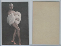 W Card, Exhibit, Showgirls & Pinups, 1960's, (G)