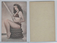 W Card, Exhibit, Showgirls & Pinups, 1960's, (H) Fishing