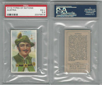 T113 Recruit, Types of Nations, 1910, Austria, PSA 5.5 EX+