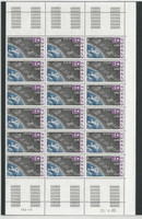 Monaco, Postage Stamp, #1495 Mint NH Sheet, 1985 Space