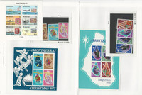 Montserrat, Postage Stamp, #355-8a, 377-80a, 419a Mint NH Sets & Sheets