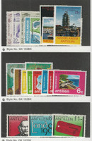 Netherlands Antilles, Postage Stamp, #269//458 Mint Hinged, 1960-80
