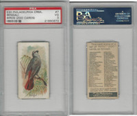 E30 Philadelphia, Zoo Cards, Song Birds, 1907, Bengali, PSA 3 VG