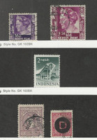 Netherlands Indies, Postage Stamp, #180, 188, O19, O26 Used, 326 Mint