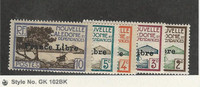 New Caledonia, Postage Stamp, #218-222 Mint LH, 1941