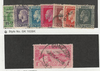 New Zealand, Postage Stamp, #130, 151, 153-4, 157, 159-60, 180 Used, 1915-25