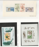 Niger, Postage Stamp, #C231 LH, C268 Used, C190a Mint NH, 1972-76