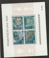 Norway, Postage Stamp, #1028 Mint NH Sheet, 1992
