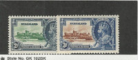 Nyasaland, Postage Stamp, #48-49 Mint Hinged, 1935