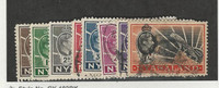 Nyasaland, Postage Stamp, #55, 55A, 57, 57A, 58-60, 62 Used, 1938-45