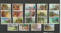 Papua New Guinea, Postage Stamp, #369-388 Mint NH, 1973-74 (P)