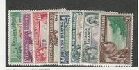 Pitcairn Islands, Postage Stamp, #1//8 (8 Different) Mint LH, 1940-51
