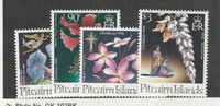 Pitcairn Islands, Postage Stamp, #411-414 Mint NH, 1995 Flowers
