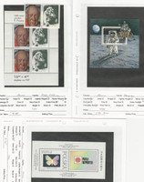 Poland, Postage Stamp, #2432a, 2910a, 3056 Mint NH Sheets, 1981-91 Space