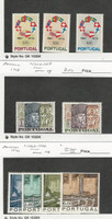 Portugal, Postage Stamp, #1011-1013, 1017-18, 1063-66 Mint LH, 1967-70