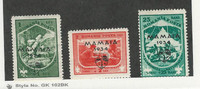 Romania, Postage Stamp, #B44, B46-B47 Mint Hinged, 1934 Scouting
