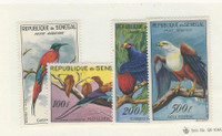 Senegal, Postage Stamp, #C26-C28, C30 VF Mint LH, Birds