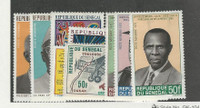 Senegal, Postage Stamp, #C70-C78 Mint Hinged, 1969-70
